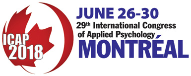 International Congress of Applied Psychology 2018